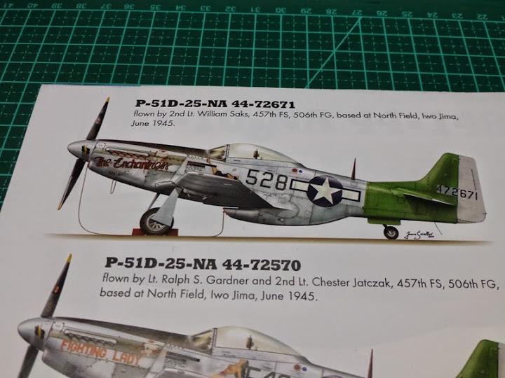 """P-51D """"The Enchantress"""" - Tamiya 1:72 - Finalizado 04Set2015 P1090453"""