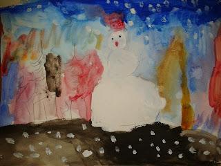Bohnomme de neige - Marta