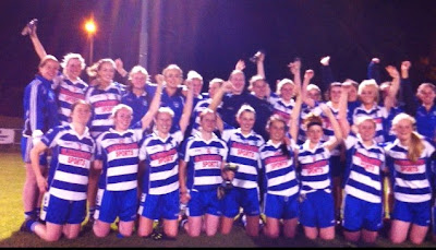 Blessington Ladies Intermediate champions 2012