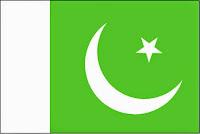 εθνική σημαία Πακιστάν, national flag of Pakistan.
