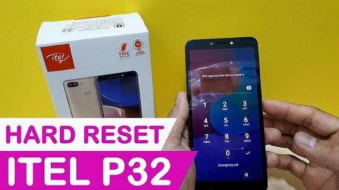 Cách Hard Reset Itel P32