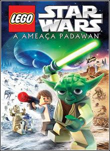Filme Poster LEGO Star Wars: A Ameaça Padawan DVDRip XviD Dual Audio & RMVB Dublado