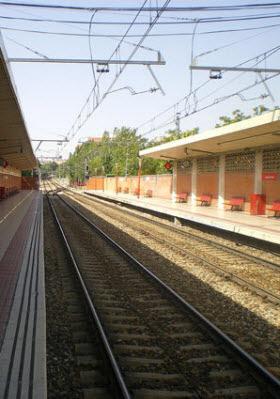 Obras en las vías de Cercanías entre Atocha y Asamblea de Madrid-Entrevías