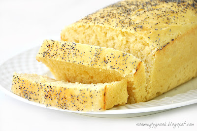 potato bread slice Potato Bread with Poppy Seeds