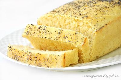 potato bread slice Potato Bread with Poppy Seeds