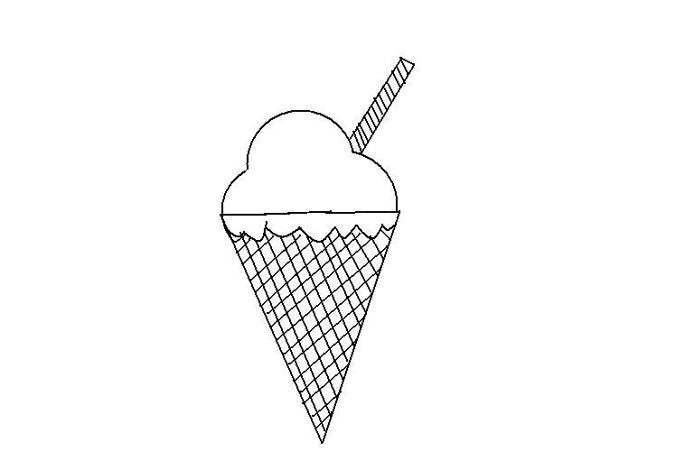 desenhos para colorir desenho para colorir de sorvete aqui você