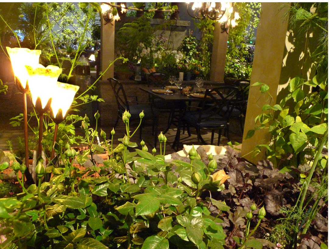 Chef Garden: Le Coquelicot: Philadelphia Flower Show 2011