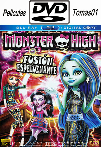 Monster High: Fusión Espeluznante (2014) DVDRip