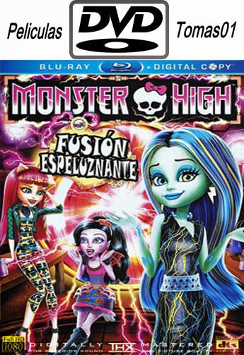 Monster High: Fusión Espeluznante (2014) DVDRip