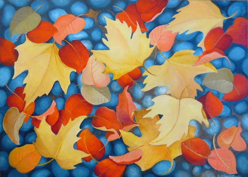 "CHAA Lisa GIlliland VIney ""Fall"""