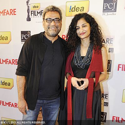R Balki and his wife Gauri Shinde made an appearance at the 58th Idea Filmfare Awards in Mumbai.Click here for:<br />  58th Idea Filmfare Awards