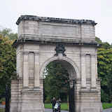 Fusiliers' Arch - indgang til St Stephen's Green park.