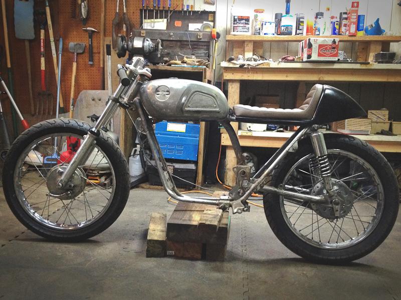 1971 Honda 175cc Cafe Build