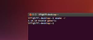 Kernel 3.10.10 in Ubuntu Linux