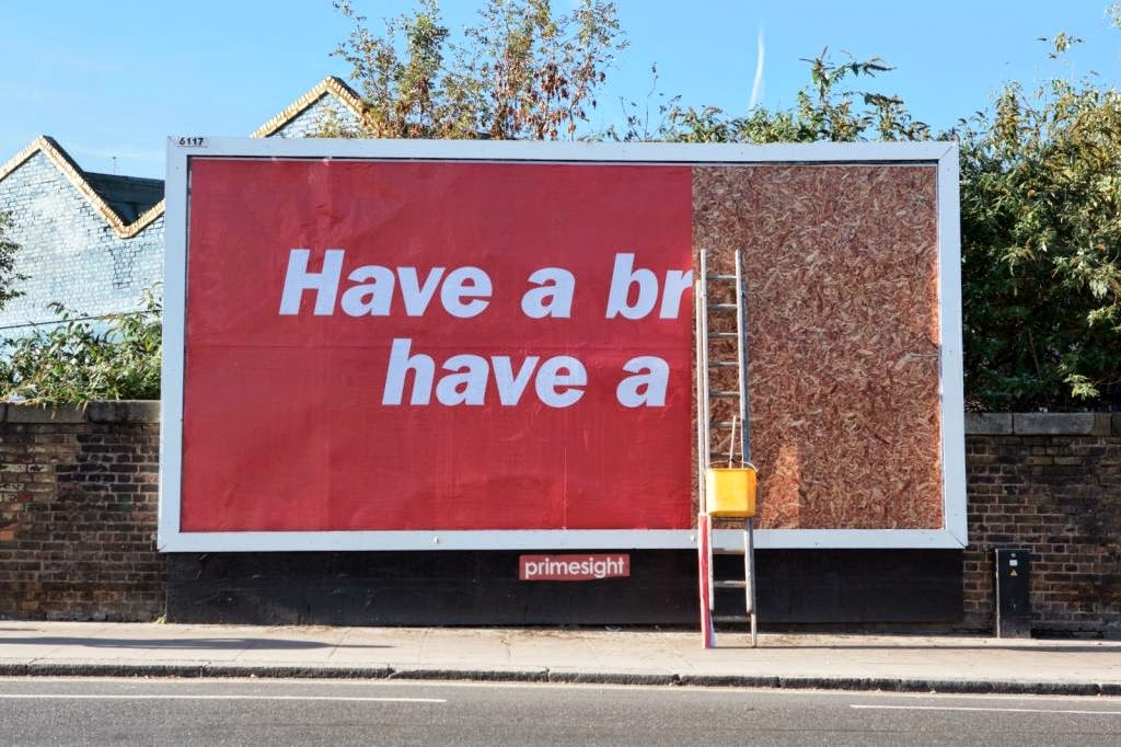 "Kit Kat ""Break"" Billboard"