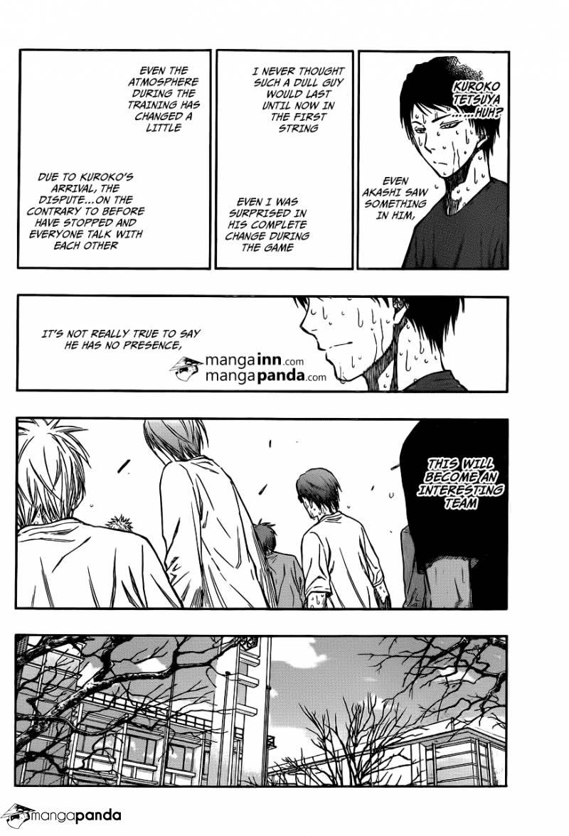 Kuroko no Basket Manga Chapter 210 - Image 04