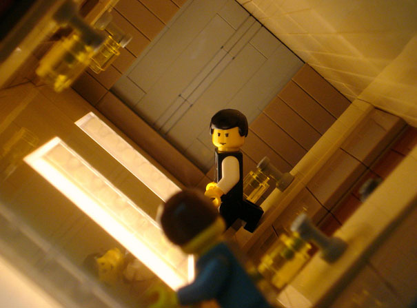 15 Famous Movie Scenes Recreated in Lego 15