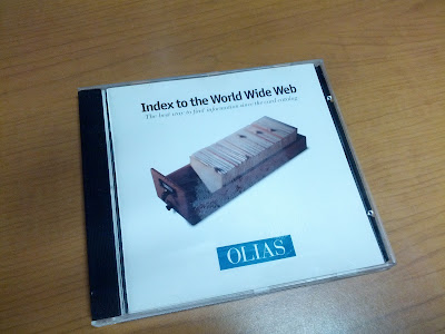 OLIAS Index to the World Wide Web CD cover