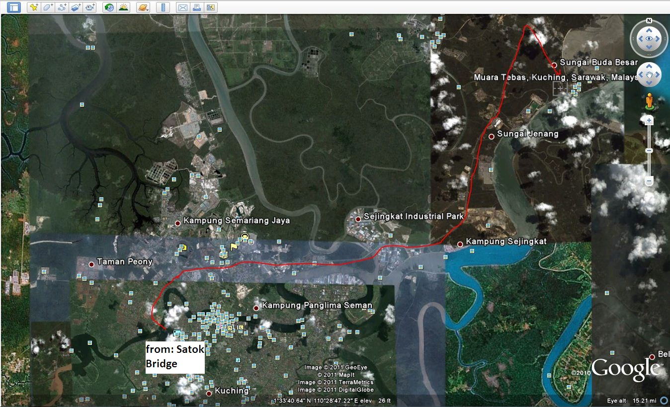how to make a map from google earth