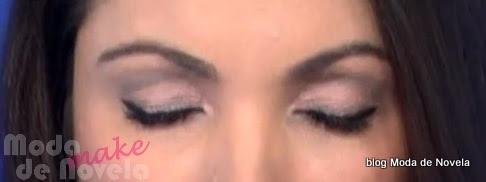 moda do programa Jornal Nacional, maquiagem da Patrícia Poeta dia 22 de outubro