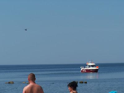 plaża Darłowo Darłówek plażowanie relaks odpowyczen wypoczynek plażowanie opalanie pływanie pluskanie Panorama LeSage Anna Przybytniak Grabowska