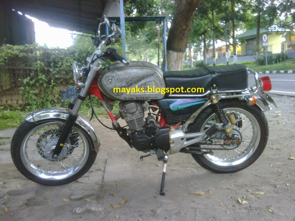Download 70 Proses Modifikasi Motor Cb Terlengkap Fire Modif