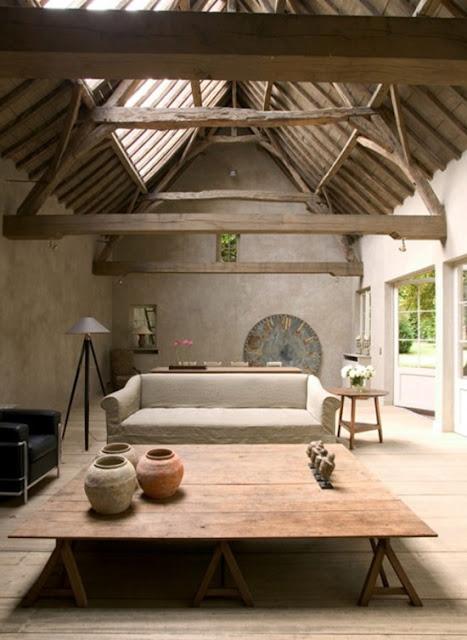 Belgian Style Living Room