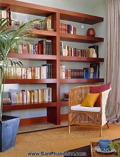Các mẫu thiết kế nội thất phòng đọc sách P1-6