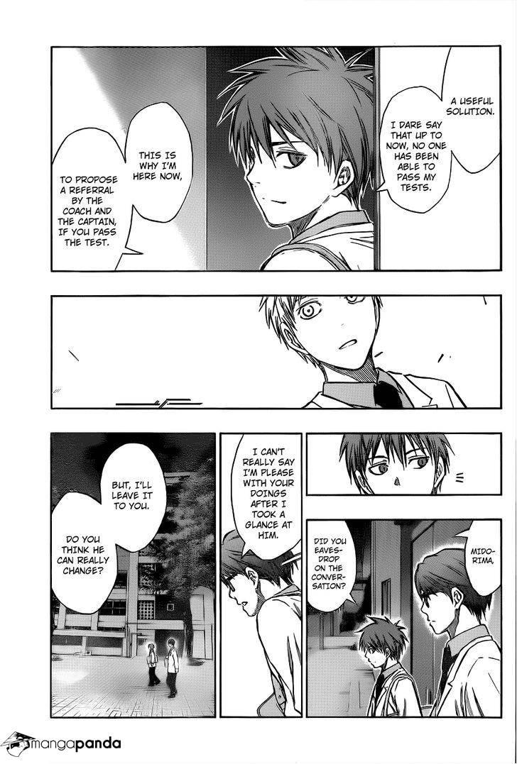 Kuroko no Basket Manga Chapter 206 - Image 08