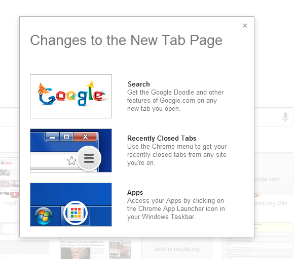 Chrome New Tab