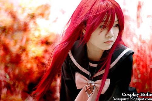 shakugan no shana cosplay - shana 6