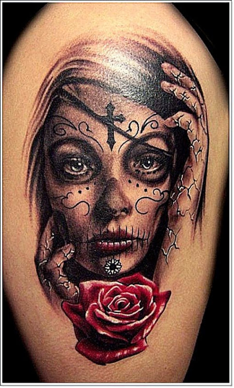 42 Dramatic Mexican Tattoos A Look into the Dark World of the