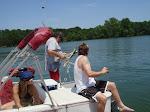 Todd throws anchor