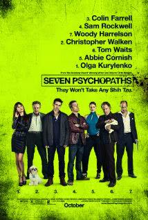 Siete psicópatas y un perro (2012)