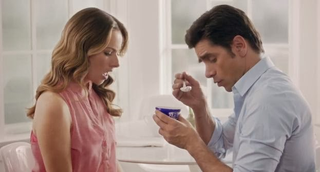 "John Stamos is back in Dannon Oikos Greek Yogurt ""The Spill"" Super Bowl Commercial"