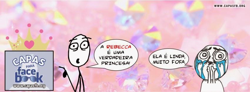 Capas para Facebook Rebecca
