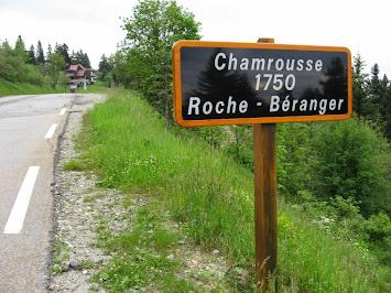 Arrivée à Roche Béranger