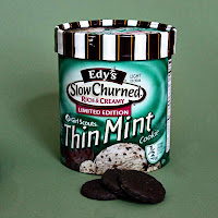 Thin Mint ice cream by SweeterThanSweets