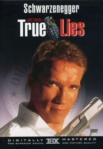 Poster Of True Lies (1994) Full Movie Hindi Dubbed Free Download Watch Online At Alldownloads4u.Com