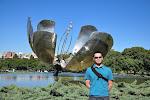 Buenos Aires: la Floralis, Recoleta