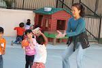 LePort Montessori Preschool Toddler Program Irvine Spectrum - playing with the teacher