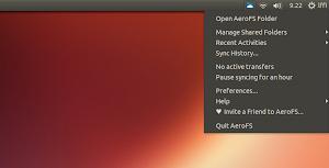 AeroFS in Ubuntu Linux