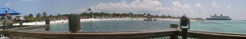 [Floride 2011 - Trip Report] WDW,DCL,USO,IOA,KSC,DC,BG,SW,ETC ... - Page 7 Pano_DCL_CastawayCay_PelicanPoint