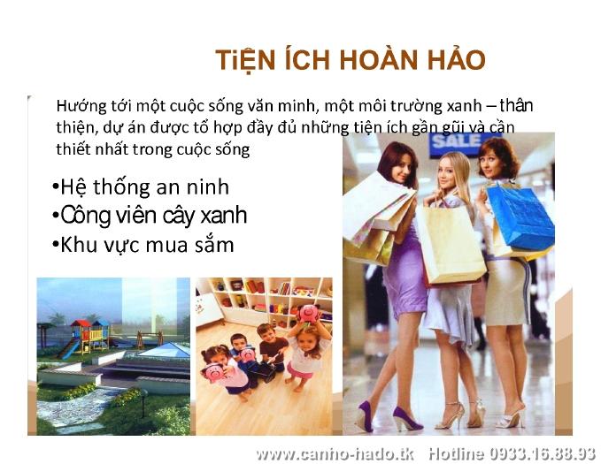 Căn Hộ Hà Đô Nguyễn Văn Công – Gò Vấp