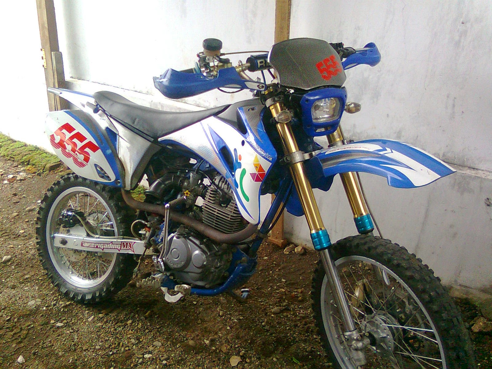 modifikasi motor tiger 2008