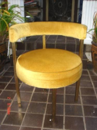 Black Velvet Chair: Lounging Around On A Nailhead Trim Sofa