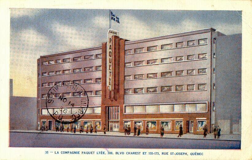 Paquet, 1950