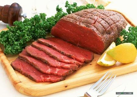 Thịt bò, đậu đỏ, dâu tây… là những thực phẩm cực tốt cho bà bầu.