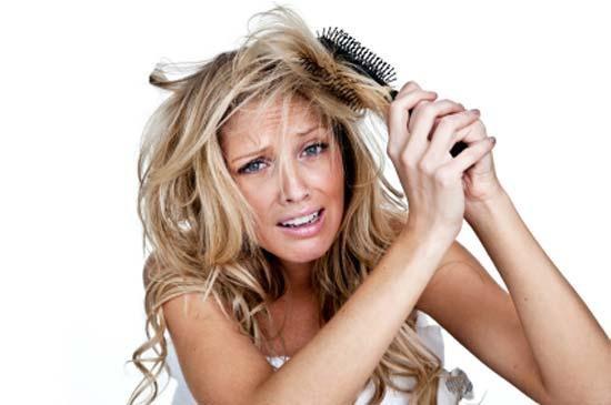 Жесткие волосы и выпадение волос