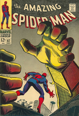 Amazing Spider-Man #67, John Romita, Mysterio